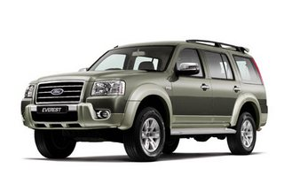 7  Seat Ford Everest Rentral